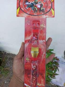 Jam tangan anak karakter Iron man