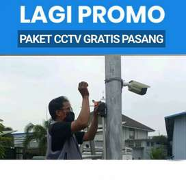 Murah Berkualitas Paketan CCTV Gratis Jasa Pasang