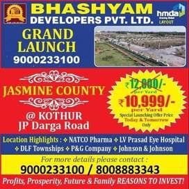 hmda approved plot at kothur