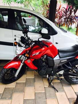 Yamaha fz red