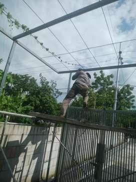 Jasa pembuatan pintu pagar tralis dll