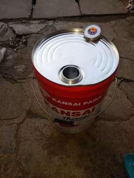 Jual drum bensin kpasitas 20 liter stok rediy brag bagus2 bisa krim