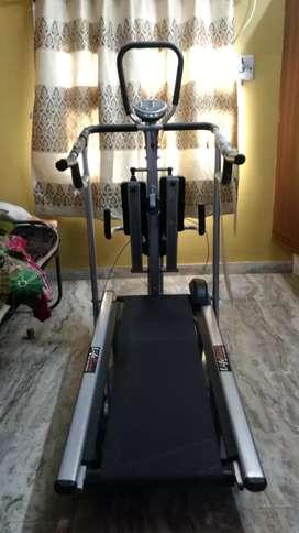 Manual treadmill 4 in 1 use
