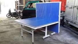 Meja ping pong tenis meja bisa dilipat byar dirumah