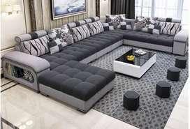 Arrival modern desig u shsped tanveer furniture unit brand new sofa se