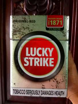 Lucky strike tin..indian, apache