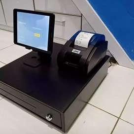 Paket Lengkap Mesin kasir Android Restoran, Kuliner, Coffee shop