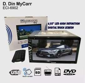 "Double din DVD MY carr 6.95"" - Touchscreen [ Dinasti Audio ]"