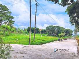 Tanah Hook 2 Muka 792 m2 Jl Raya Pakem-Kalasan Cocok Villa,Rumah Mewah