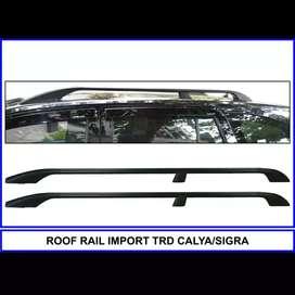Roof rail cayla sigra model trd