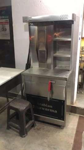 Call if you need a shawarma maker