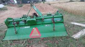 Jhon deere Green system 6 feet rotervater 54 tiles