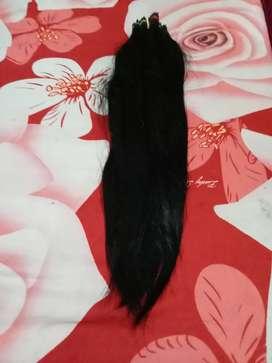 Rambut sambung asli 55 cm
