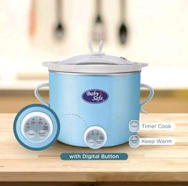 Digital Slow Cooker Baby Safe