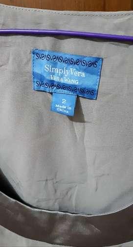 VERA WANG SIMPLY VERA DRESS WORLD BRANDED DESIGNER