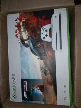 Xbox one s 1tb with 3 games