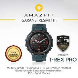 Amazfit T-Rex Pro Smartwatch Military Grade - Garansi Resmi