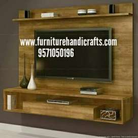 Brand new solid wooden wall t.v unit