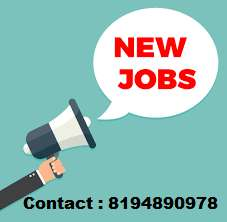 Data Entry operator Requirement