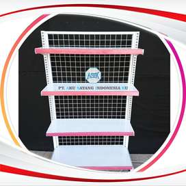 perlengkapan rak minimarket toboali modern