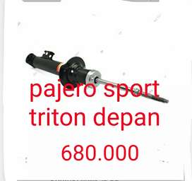 Shock depan set triton pajero sport
