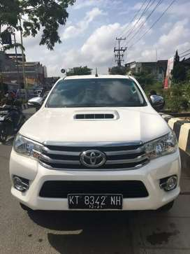 Jual Toyota Hilux 2.5 Type G DC (4×4). Manual. Th 2016. Putih