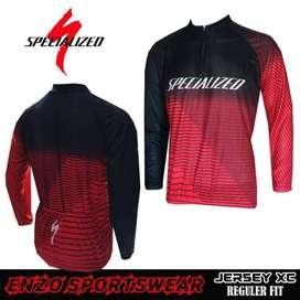 COD POS - Jersey Sepeda MTB Specialized BlackRed