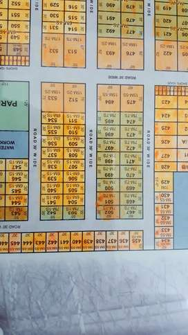 7.77 Marla plot for sale in defence view housing society