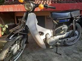 Honda c70 basic astrea star honda 70