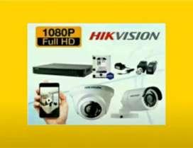 Cctv paket lengkap kamera 2 MPgratis pasang instalasi kamera digital