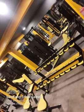 Complete gym setup only 3.6 lakh