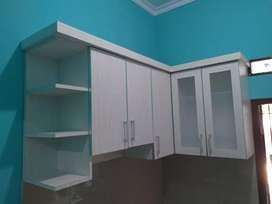 Kitchen set hpl dan lemari pakaian