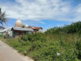 Dijual Tanah Kosong di Lampulo Depan Masjid Dekat Lamdingin