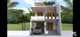 Need a 3d modelling House plan& elevation contracts