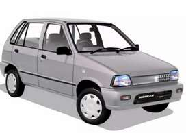 Mehran car available on rent any where in Pakistan.