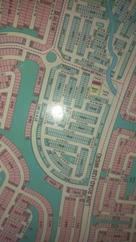 5 marla plot park face heightlocation For ( SALE) in bahria town