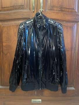 Zara Vinyl Jacket for Men