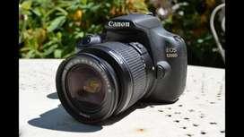 Kamera DSLR Canon 1200D lengkap
