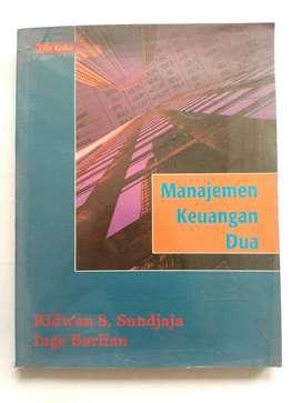 Buku Manajemen Keuangan Dua, Edisi ke 2,  karangan Ridwan S Sundjaja -
