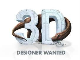 3D Designers, Freelancers