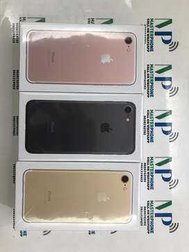 New Apple iPhone 7 128GB with warranty