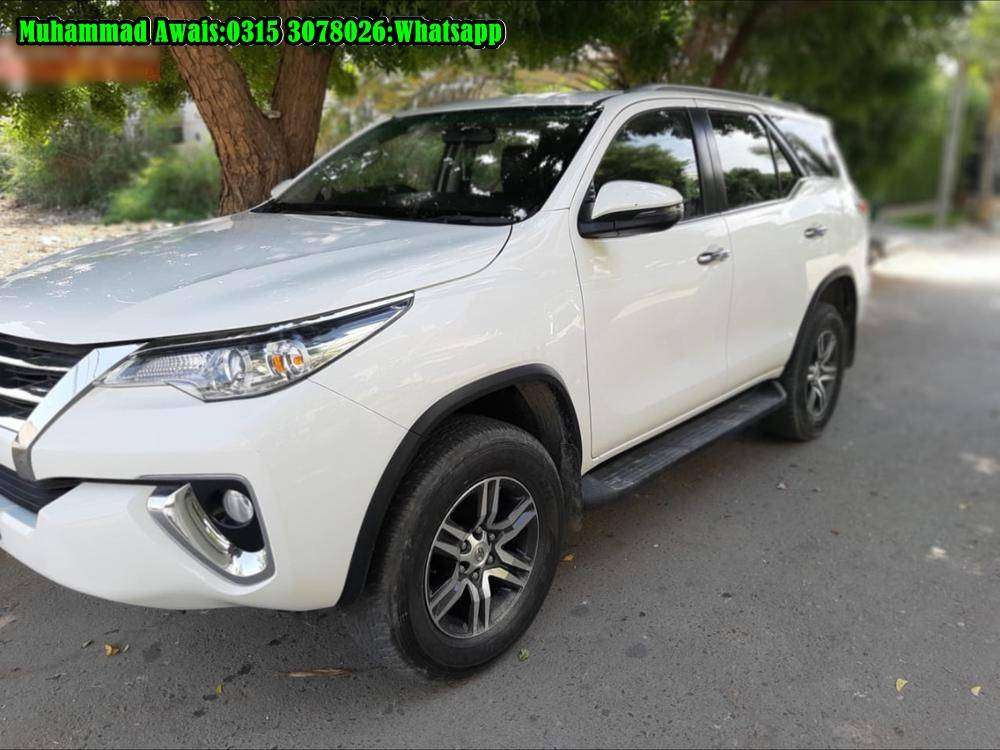 Toyota Fortuner get on the easiest installments