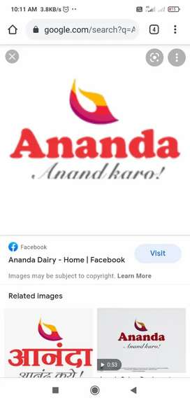Ananda milk distributor needs salesman