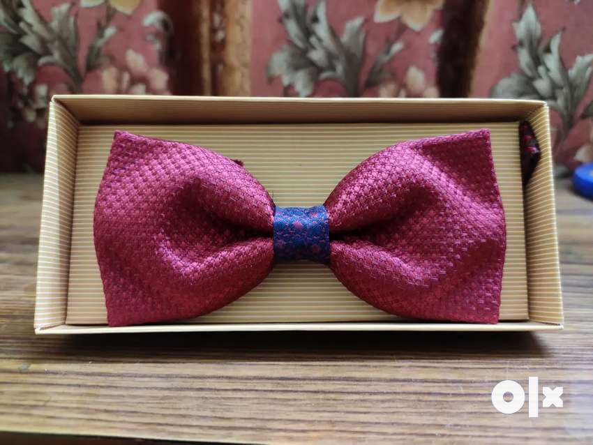 Premium Bow Tie   Red Colour   With Box
