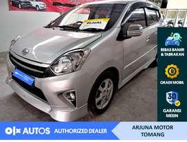 [OLX Autos] Toyota Agya 2016 S 1.0 Bensin A/T Silver #Arjuna Tomang