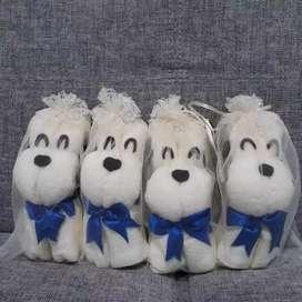 Souvenir gift anjing imut