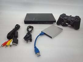 PS2 160GB COMPLETE 70 GAME WITH ALL NEW