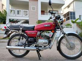 I want to sell my Yamaha Rx 100 with mint. And good condition