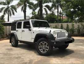 Jeep rubicon 4d white 3.6 pentastar 2013 km 13 rb pemakai