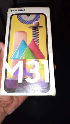 Samsung m31 6gb 128 storag